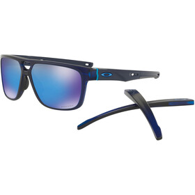 Oakley Crossrange Patch Cykelbriller blå/sort